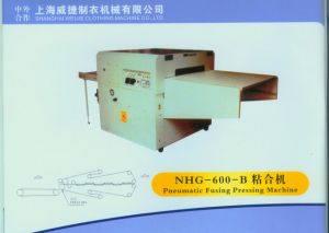 High Efficiency Pneumatic Fusing Press Machine with Super Fusing Effect