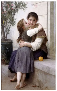 Famous Artists Oil Painting, Masterpiece Oil Painting Reproduction, Calinerie (1890years) -William Adolphe Bouguereau pictures & photos