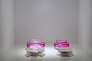 30g Acrylic Empty Slim Waist Lotion Bottle for Cosmetic Packaging pictures & photos