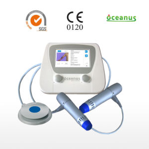 Shockwave Therapy Device (double end) for Physiotherapy /Rehabilitation/ Chronic Muscular and Tendon Disorders