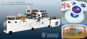 Six Color Lid Printing Machine pictures & photos