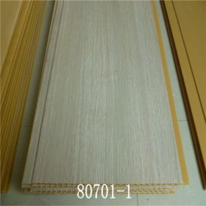8*250mm Wall Decoration PVC Panel with Lamination ISO9001 pictures & photos