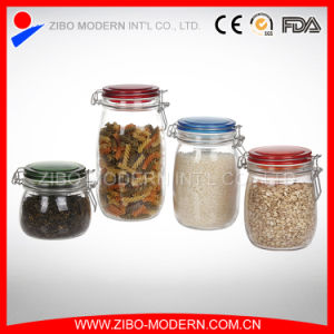 Hermetic Food Glass Jar Wholesale/Glass Sealed Jar pictures & photos