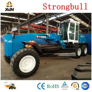 Gr180 Xjn Strongbull Brand 180HP Motor Grader with Front Dozer and Rear Ripper pictures & photos