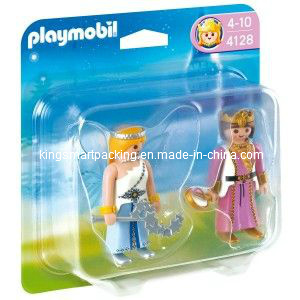 Vacuum Forming Plastic Blister Packaging Cards for Playmobil (KSM-66)