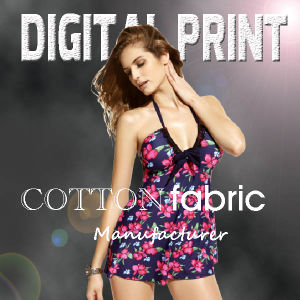 Digital Printed Fabric of Cotton Twill, Cotton Drill for Garment (X1030) pictures & photos