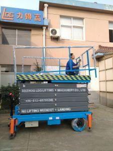 Mobile Hydraulic Scissor Working Platform (SJZ0.5-12) pictures & photos