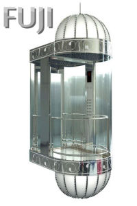 All Transparent Glass Observation Elevator / Lift pictures & photos