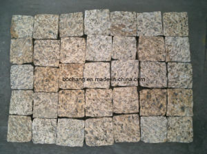 Yellow Grey Black Granite Cube Paving Stone pictures & photos