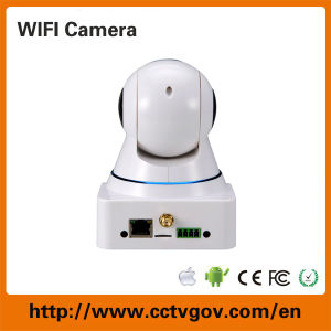 H. 264 SD Card WiFi Webcam with 720p PTZ Built-in Microphone pictures & photos