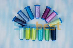 Beautiful Colors Polyester Embroidery Thread with High Quality pictures & photos
