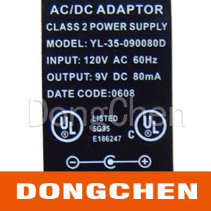 Silver Foil CE UL Electronic Warning Battery Label pictures & photos