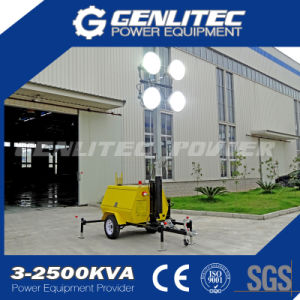 Vehicle-Mounted Light Tower with Japan Kubota Engine pictures & photos