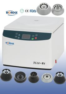 Tabletop High Speed Laboratory Centrifuge (TG16-WS) pictures & photos
