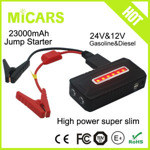 New Design High Power Auto Car Ce RoHS 19V Multi-Function Mini Car Jump Starter 24V