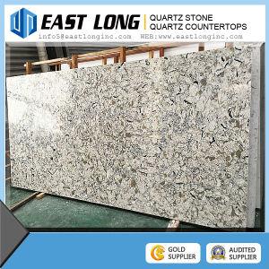 Marble Color Quartz Stone Slabs for Quartz Kitchentop pictures & photos