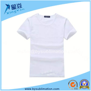 200GSM White Modal T-Shirt for Man pictures & photos