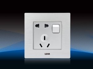 1 Gang One Way Switch and 2 Gang Socket (V8, DBF/SBF)