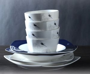 Blue Ceramic Dinnerware and Tablware