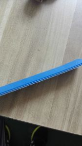 Food Grade PU Conveyor Belt in Blue White Color pictures & photos
