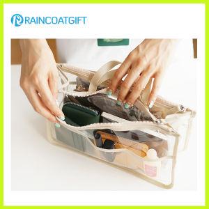 Transparent PVC Insert Tidy Travel Cosmetic Bag Organizer Rbc-036 pictures & photos