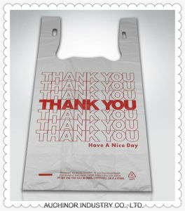 Plastic Bag Singlet Plastic T-Shirt Shopping Bags pictures & photos
