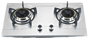 Built-in Double Gas Stove (GS-B01) pictures & photos