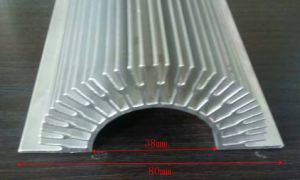 80mm Width Sunflower Aluminum Profile Heat Sink 80mm*38mm*100mm Length Can Custom-Made pictures & photos