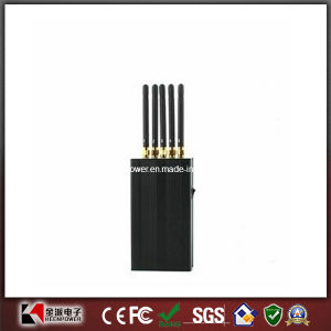Wireless GPS & WiFi Cell Phone 5 Antenna Portable Jammer pictures & photos
