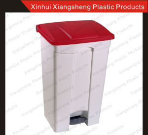 Good Quality 87 Plastic and Colorful Waste Bin /Dustbin for Waste Management