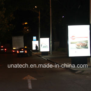 Outdoor Business Street Media Advertising Poster Box Frame LED Banner Scroller pictures & photos