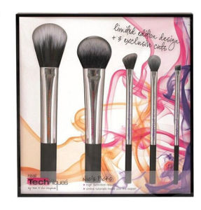 5PCS High Quality Synthetic Hair Professional Makeup Brushes