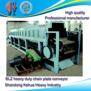 Blz Heavy Duty Chain Plate Conveyor for Granular Material