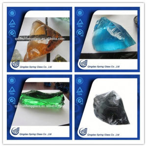 Colorful Large Glass Stones High Quality pictures & photos