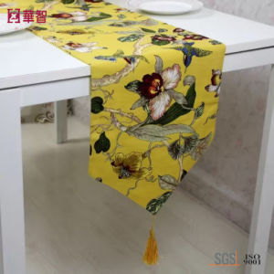 100% Polyester Printed Tablecloth pictures & photos