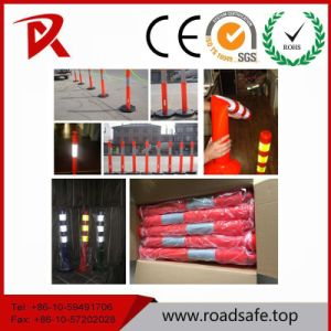 Traffic Safety Flexible Reflective PU Warning Post pictures & photos