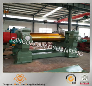 Two Roll Open Mill Rubber Mixing Machine with ISO pictures & photos