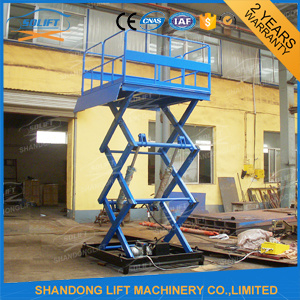 Hydraulic Electric Scissor Lift Table Equipment with Ce pictures & photos
