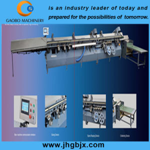 Notebook Spine Adhesive Binding Machine pictures & photos