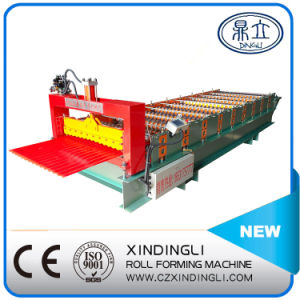 Galvanized Corrugated Metal Roofing Sheet Roll Forming Machine pictures & photos