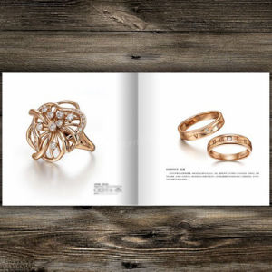 Inch A5 Size Customized Video Promotional Brochure for Jewelry pictures & photos