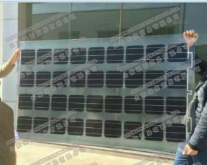 18V Double Glass Cover, BIPV Solar Panel for Roof System pictures & photos