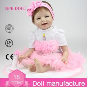 NPK Doll 22 Inch Silicone Reborn Baby Dolls Vinyl Doll Factory Wholesale Lifelike Baby Doll