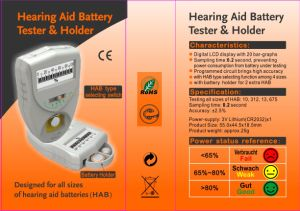 Hearing Aid Battery Tester (BC-09) pictures & photos