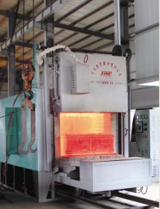Pallet Car Furnace for Quenching / Annealing /Hardening/Tempwering
