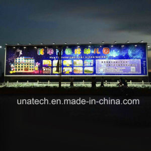 Solar Outdoor Billboard Signage Alu. Frame Heat Radiation Water Proof IP65 LED Spot Lighting pictures & photos