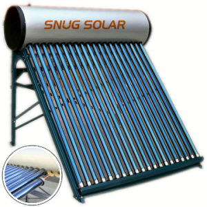 Color Steel Pressurized Solar Hot Water Heater pictures & photos