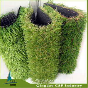 Safe Soft Landscaping Turf Soccer Synthetic Artificial Grass for Lawn pictures & photos