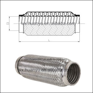 with Interlock Exhaust Flexible Pipe for Auto Parts pictures & photos