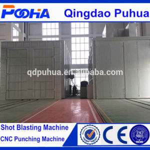 Boat Sand Blasting Chamber for Cleaning Large Workpieces pictures & photos